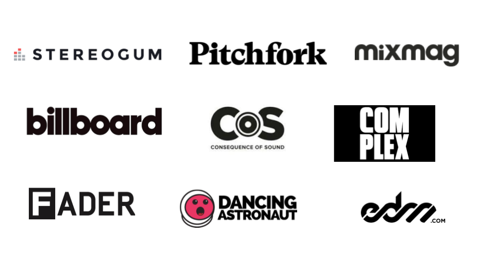 Your Music key competitor logos