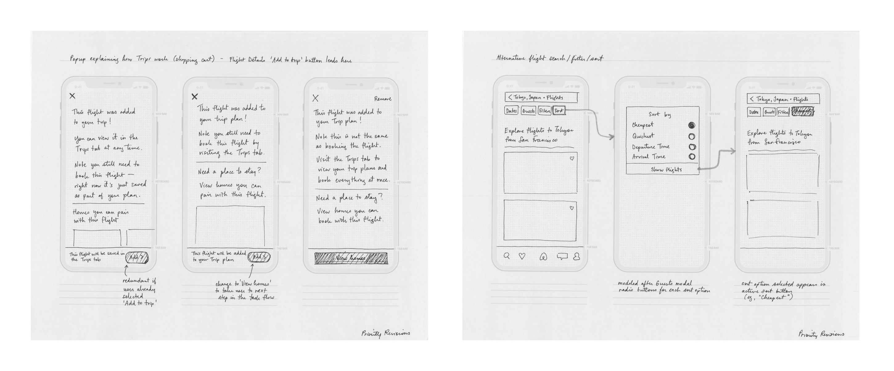 Airbnb New Wireframe Sketches V1