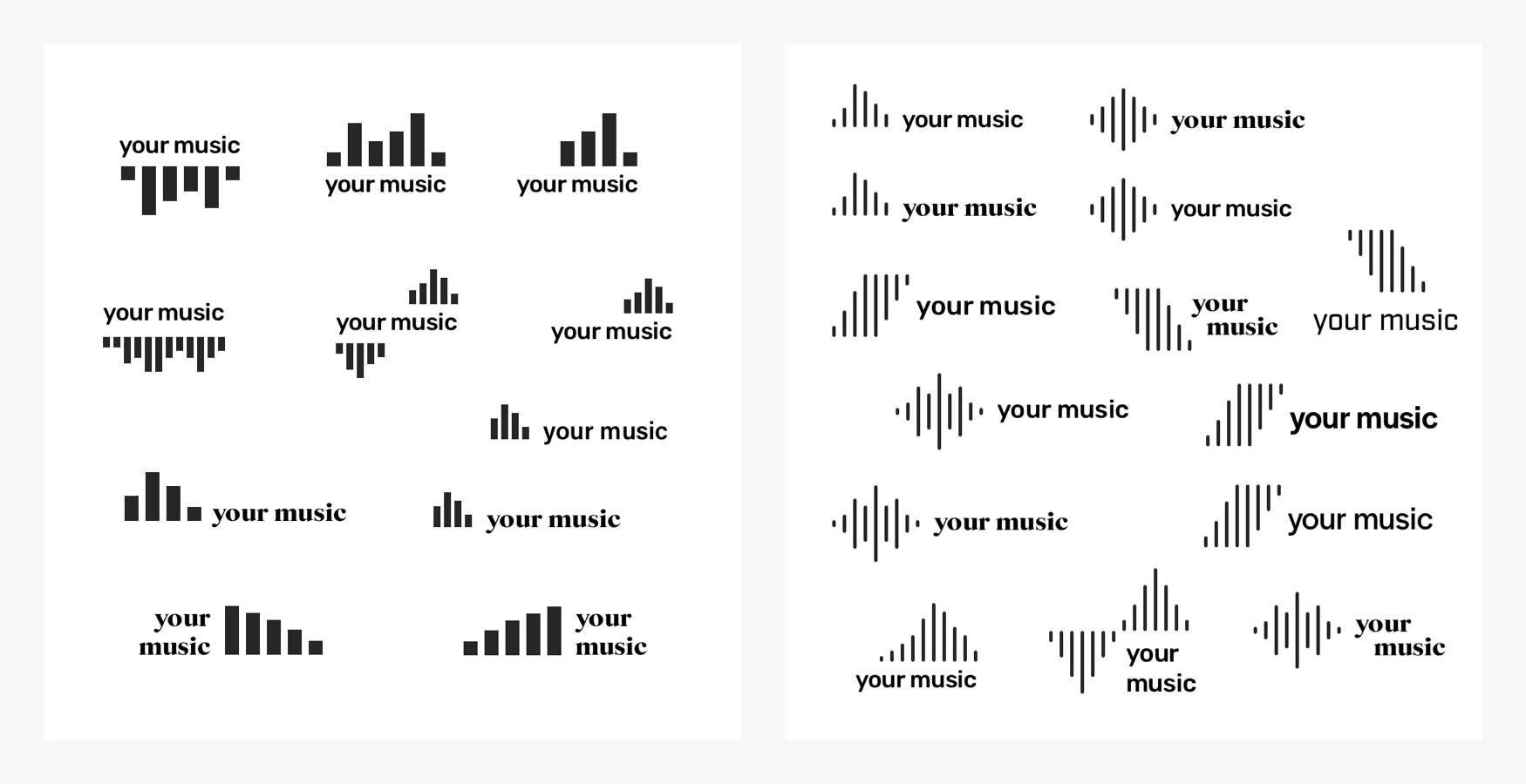 Your Music Logo Combos Case Study V1
